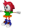 Sonic the Fighters models