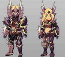 Zinogre U Armor+ (MHST)