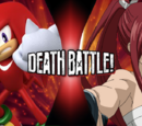 Knuckles the Echidna vs Erza Scarlet
