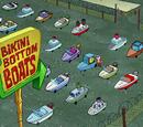 Bikini Bottom Boats