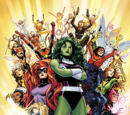 MARVEL COMICS VALENTINES: A-Force