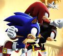Sonic The Fighting Starz