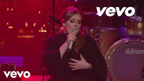 Adele - Turning Tables (Live on Letterman)