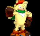 Sonic The Fighting Starz/Bark's Quotes
