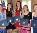 Local Girl Scouts achieve highest award in Girl Scouting: the Girl Scout Gold Award