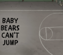 Baby Bears Can't Jump
