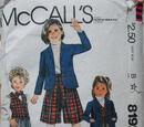 McCall's 8192 A