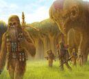 Guerra Wookie-Trandoshana (20 ABY) (C-g)