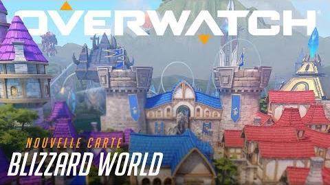Aperçu de la nouvelle carte hybride Blizzard World (VF)