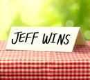Jeff gana/Transcripción