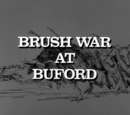 Brush War at Buford