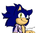 Spike557- James The Hedgehog (Sonic's dad)