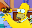 Homer's Moon Waffles
