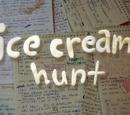 Cacería de helados/Transcripción
