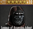 League of Assassins Adept Hood