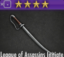 League of Assassins Adept Blade