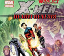 What If? X-Men Deadly Genesis Vol 1 1