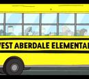 Autobús de la Escuela Primaria Aberdale Oeste