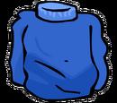Blue Turtleneck