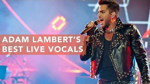Adam Lambert's Best Live Vocals