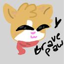 Bravepaw's new look.png
