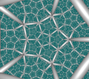 Order-5 Dodecahedral Honeycomb