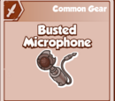 Busted Microphone