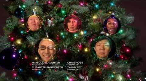 """Community S03E10 Carol of the Bells End Tag """"Dean, Chang , Pop Pop, My Name Is Alex, *raspberry*"""""""