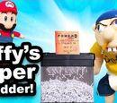 Jeffy's Paper Shredder!