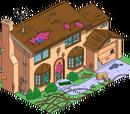 Damaged Simpson House