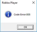 Code 005