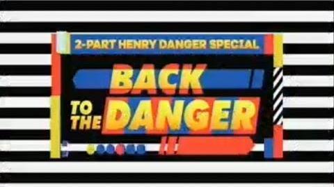 """Back to the Danger"" Part 1 ⏳ Official Trailer Henry Danger"