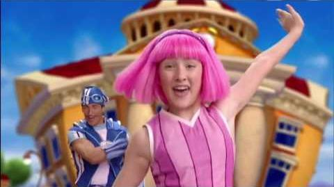 "Have you Never as seen in ""Sportacus Who"""