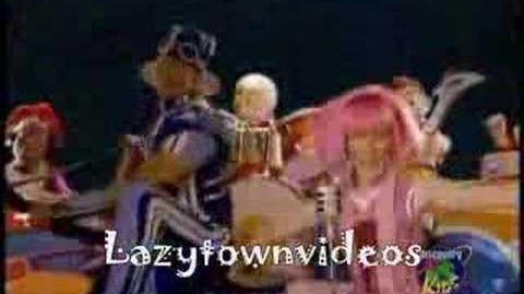 LazyTown - Bing Bang Rock (Latino)