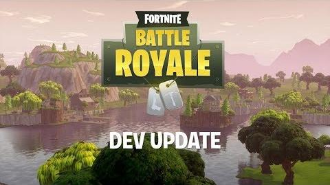 Battle Royale Dev Update 8 - Jetpack Info & Supply Llamas