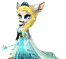 Snow Queen Deer