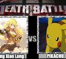 Yang Xiao Long vs Pikachu