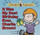 Fue mi mejor cumpleaños nunca, Charlie Brown