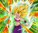 Battle Lust Super Saiyan 2 Caulifla