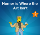 Homer is Where the Art Isn't Promotional