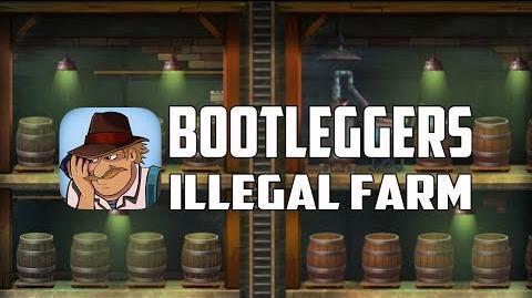 Bootleggers- Illegal Farm - The World's First Gangsters PVP Farm Game