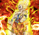Pinnacle of Rage Super Saiyan Goku