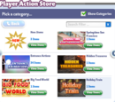 Player Action Store