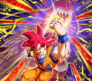 Divine Power Within Super Saiyan God Goku