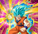 Drive to Win Super Saiyan God SS Goku