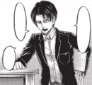 Levi discusses with his team mates.png