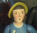 Personajes Humanos Menores en la Serie de Televisión