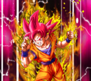 Absolute Realm of God Super Saiyan God Goku