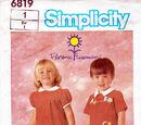 Simplicity 6819 B