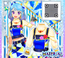 Mosaic Blue Coord